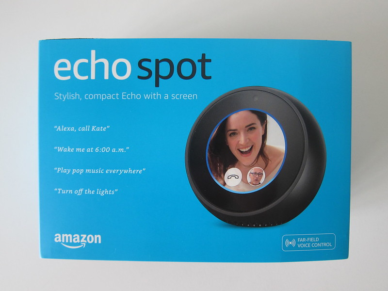 Amazon Echo Spot - Box Front
