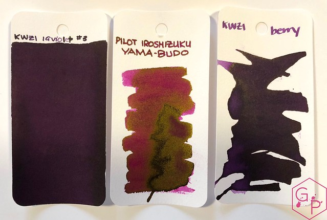 Ink Shot Review KWZI IG Violet #3 @BureauDirect 1