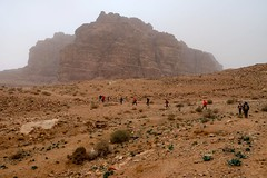 Trekking South of Petra