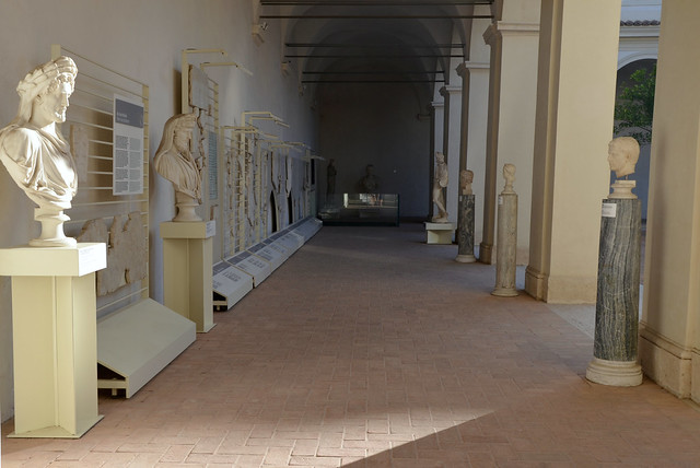 small Cloister of the Charterhouse, Bath of Diocletian Museum, National Museum of Rome