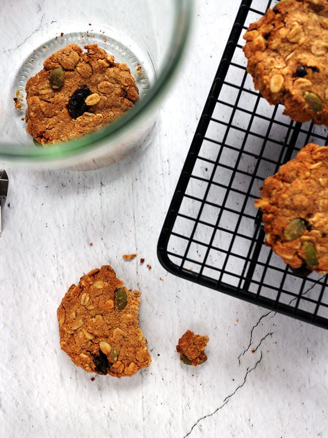 全素豆渣燕麥餅乾 vegan-okara-oatmeal-cookies (5)