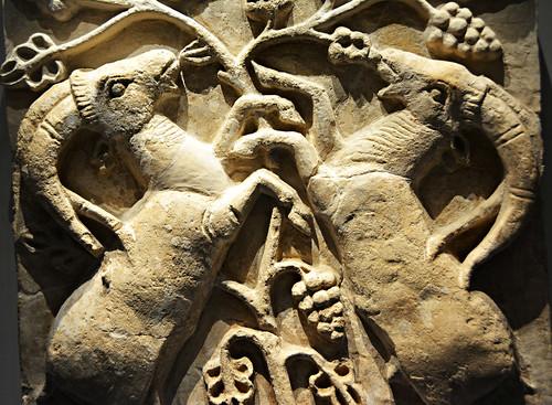 Pergamon Museum: Rams (detail)