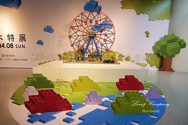 桃園市兒童美術館創意積木展2