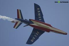 E73 5 F-TENE - E73 - Patrouille de France - French Air Force - Dassault-Dornier Alpha Jet E - RIAT 2013 Fairford - Steven Gray - IMG_4201