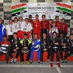 OOBite Dhruvesh Clinches Silver At The Emirates School  Karting Championship
