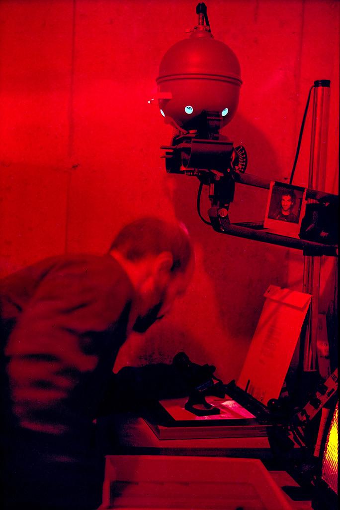 Darkroom Selfie