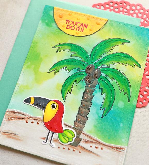 toucan do it close up