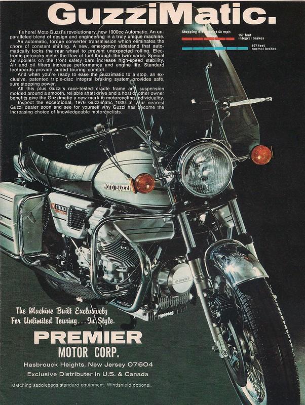 Moto Guzzi Guzzimatic