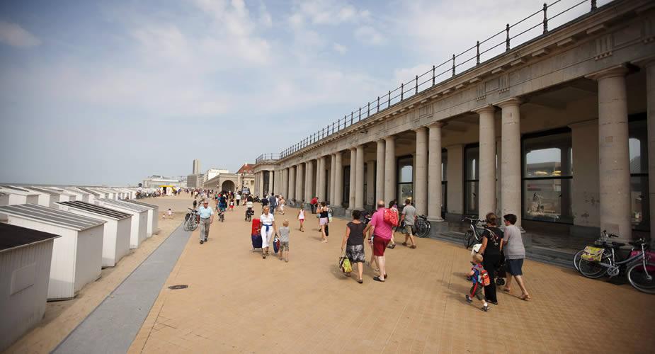 Bezienswaardigheden Oostende: Venetiaanse Gaanderijen | Mooistestedentrips.nl
