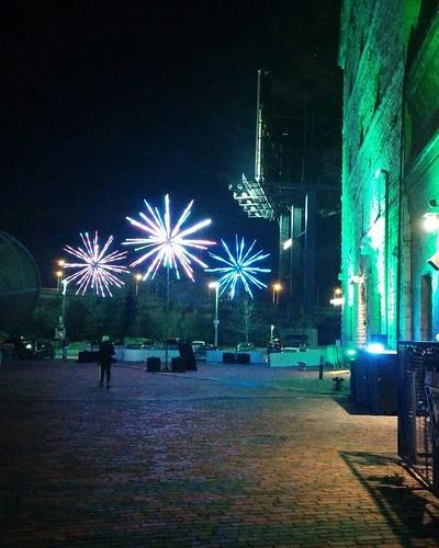 Sparkling (3) #toronto #distillerydistrict #tolightfest #latergram
