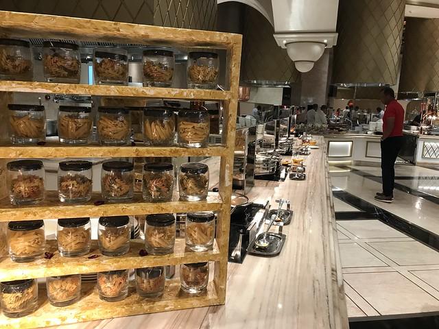 Medley Buffet, pasta section