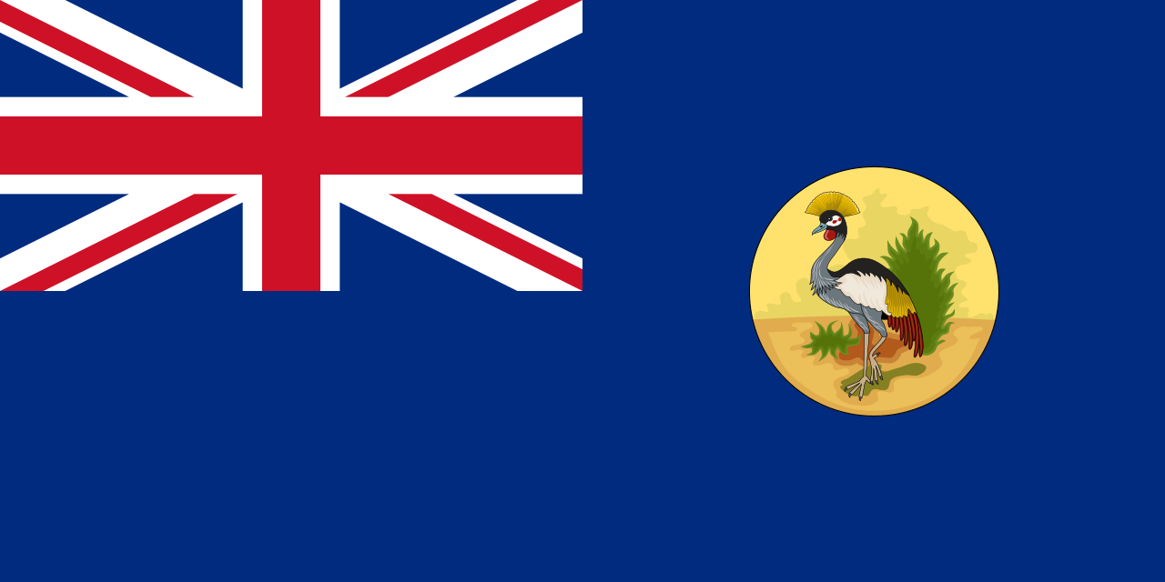 Uganda Protectorate flag