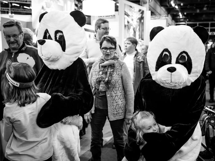 Matkamessut 2018 Finnish Travel Fair Ähtäri osasto visitähtäri ähtäri eläinpuisto pandat pyry lumi