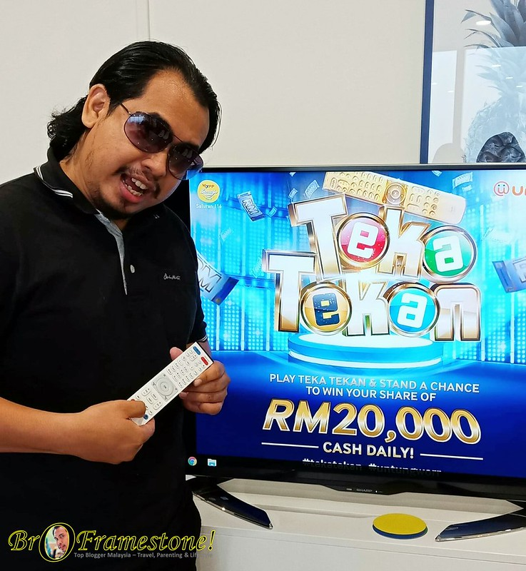 Teka Tekan at unifi TV