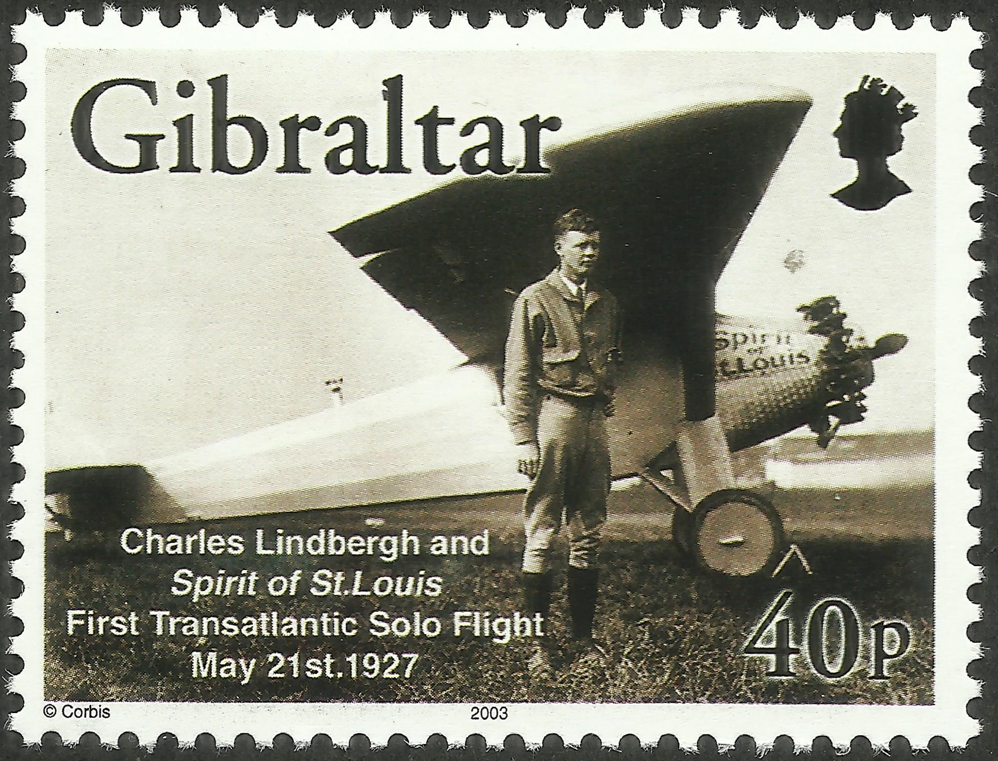 Gibraltar - Scott #933 (2003)