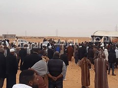 The people of the city of Tawergha are displaced from their city. They were intercepted by Misratah militias and prevented from returning to their city  #tawargha #libya #un