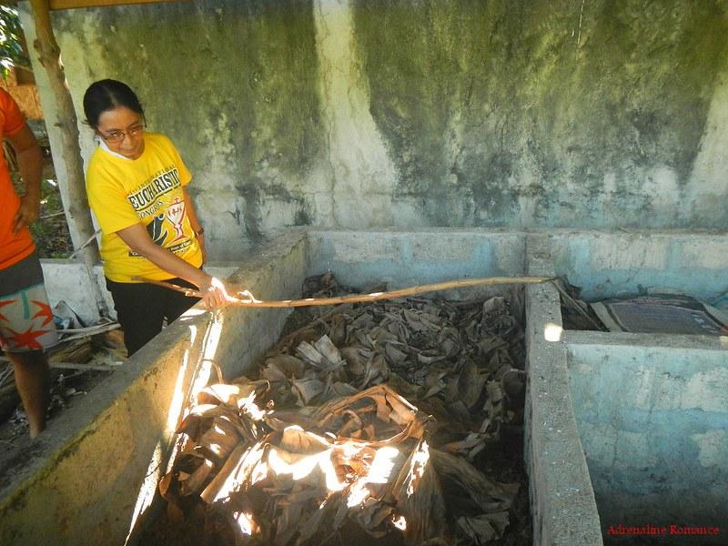 Compost pit