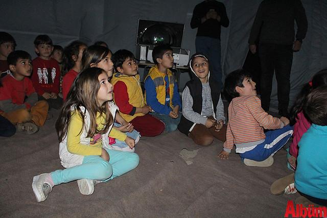 Gazipaşalı çocuklar Gezegen Evi'ni sevdi -2