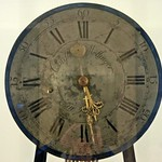 Das Zifferblatt der Akademie-Uhr des Christian Möllinger