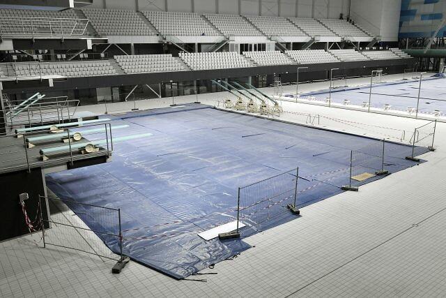 A Duna Aréna átépítése
