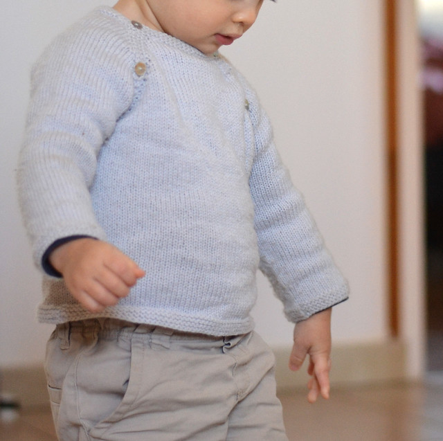 Pull bébé en BBmérinos Lucien
