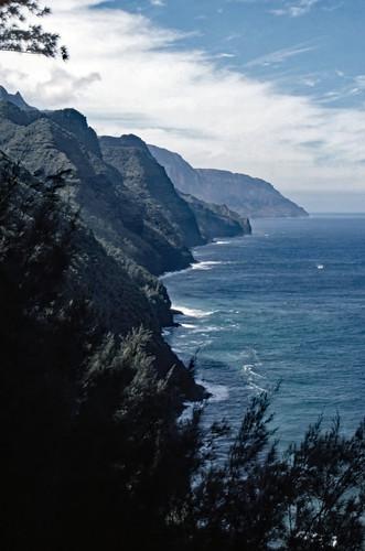 Na Pali Coast, Kauai - Kodachrome - 1986