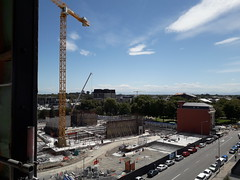 Tūranga (new Central Library) construction