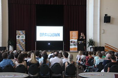 100 solutions to global warming: Paul Hawken on Drawdown at Coburg Town Hall - IMG_3025