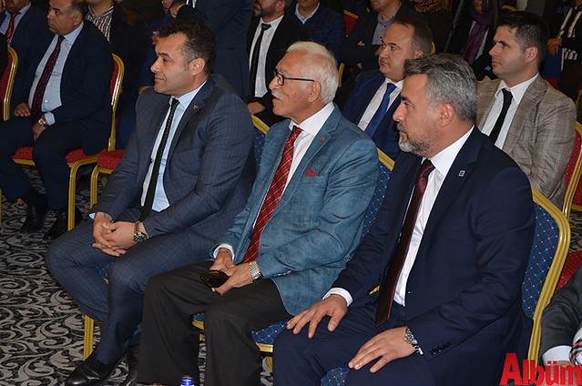 Alanya Belediye Başkanı Adem Murat Yücel, Yeminli Mali Müşavir Mevlüt Güven, ALSMO Başkanı Kerim Gökçeoğlu