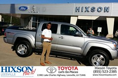 #HappyBirthday to Taeja from Cindy Crosby at Hixson Toyota of Leesville!
