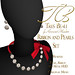 Tres Beau Ribbons and Pearls Set AD