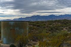 1801 Abandoned Tank North of Edgar Canyon