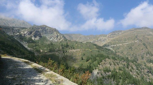 Vallo Alpino: Caposaldo Col Barant o Courbarant (Bobbio Pellice)