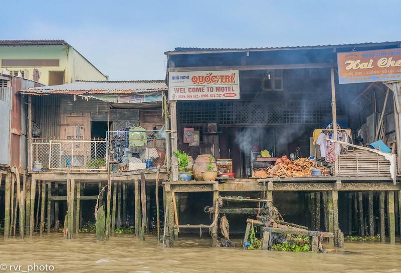 Mercado Flotante de Cai Rang, Delta del Mekong, Vietnam
