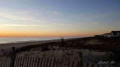 pastel skies on the beach | fenwick island delaware
