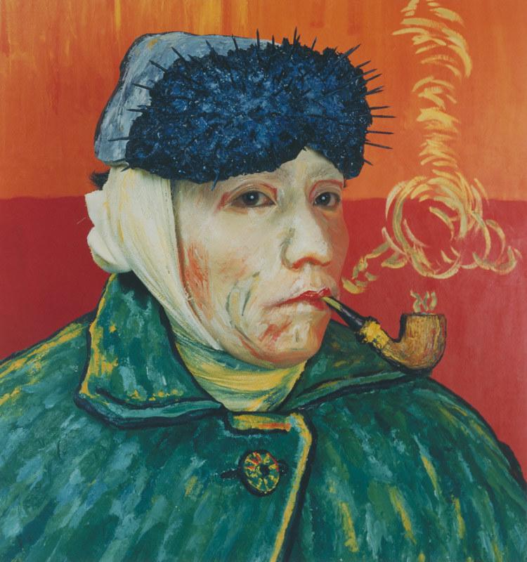 森村泰昌《肖像(ゴッホ)》(1985年、国立国際美術館蔵、未出品)