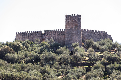 Spain - Seville - Alanis - Castle