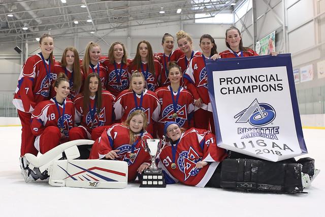 Feb 25, 2018 - Edm AA Provs - U16AA Shock wins Team Alberta (Gold)!