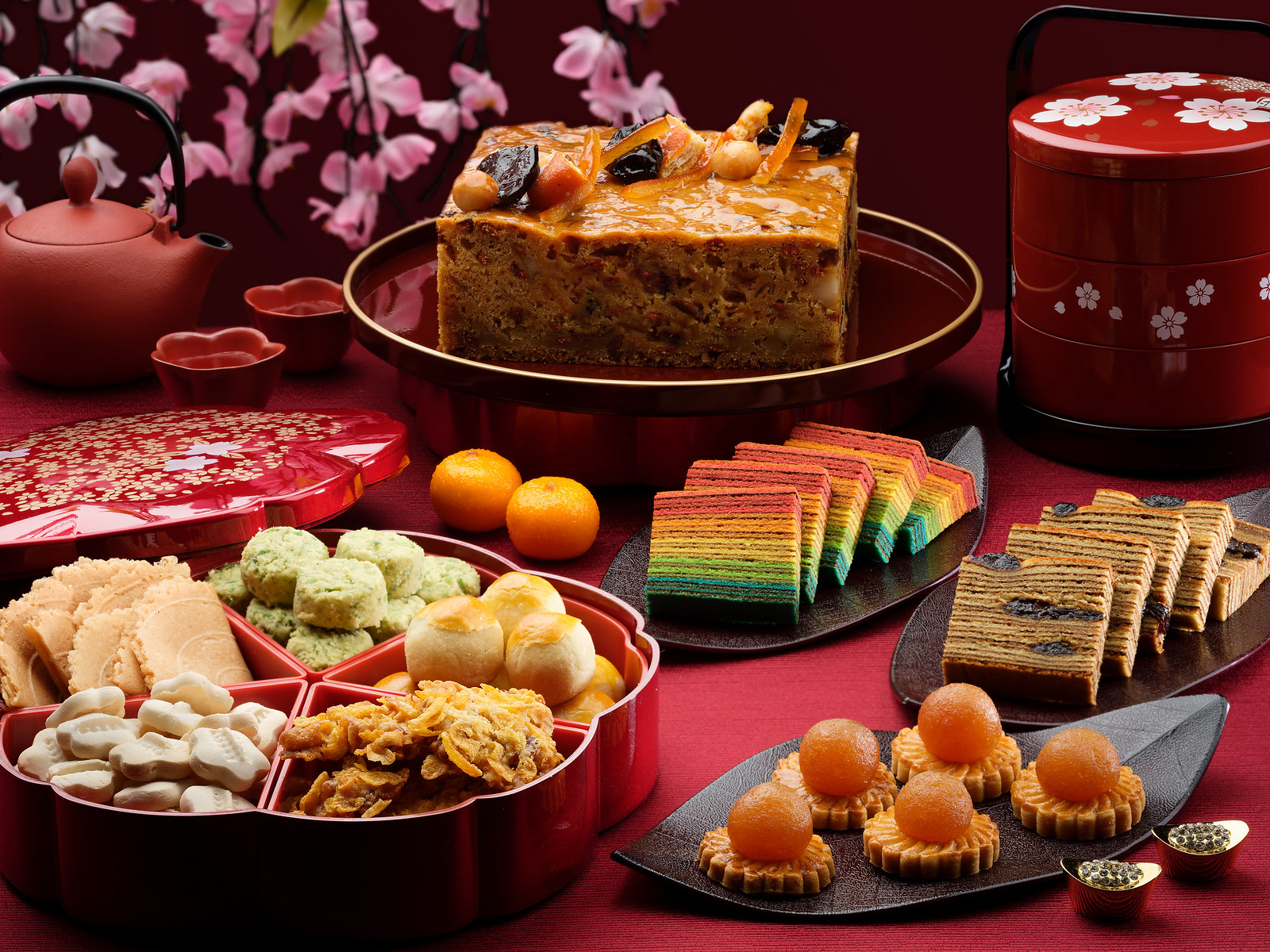 Singapore Marriott Tang Plaza Hotel - Festive Takeaway Goodies