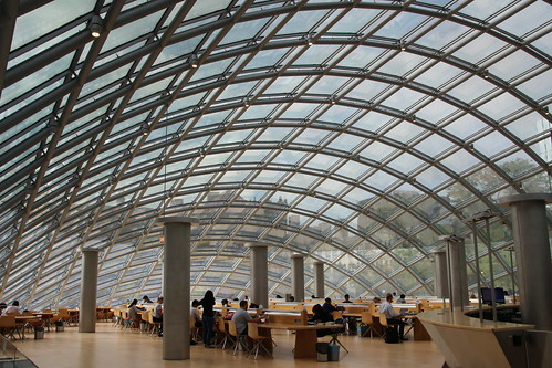 University of Chicago Joe and Rika Mansueto Library