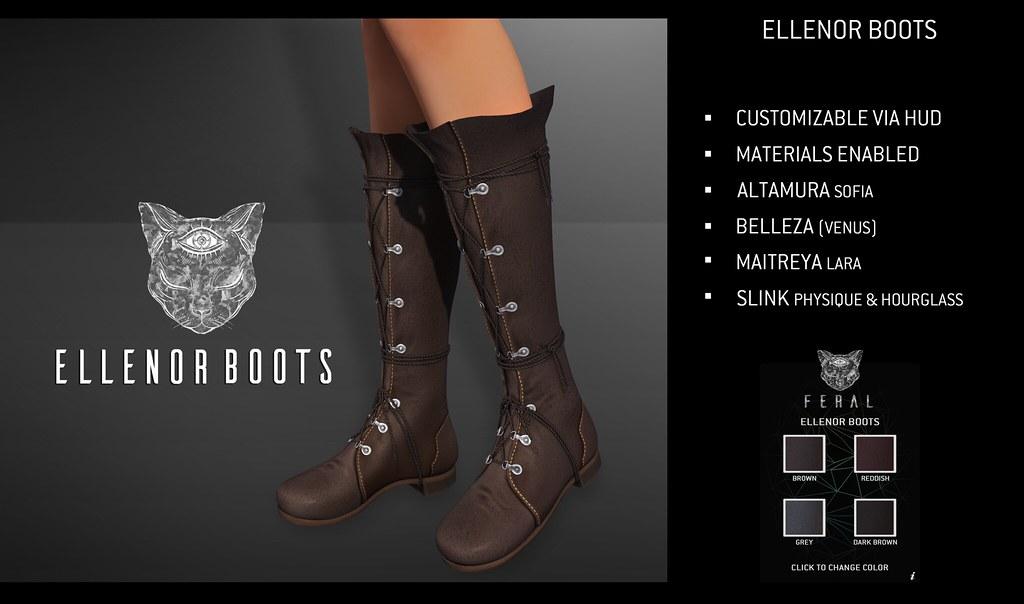 Feral – Ellenor Boots