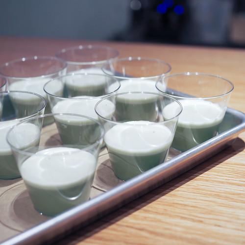 Henbit Matcha Lavender Latte