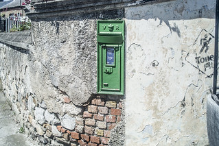 A VISIT TO THE TOWN HOWTH NINE YEARS AGO [OLD POSTBOX]-135938