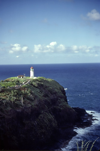 Kilauea Lighthouse - Kodachrome - 1986