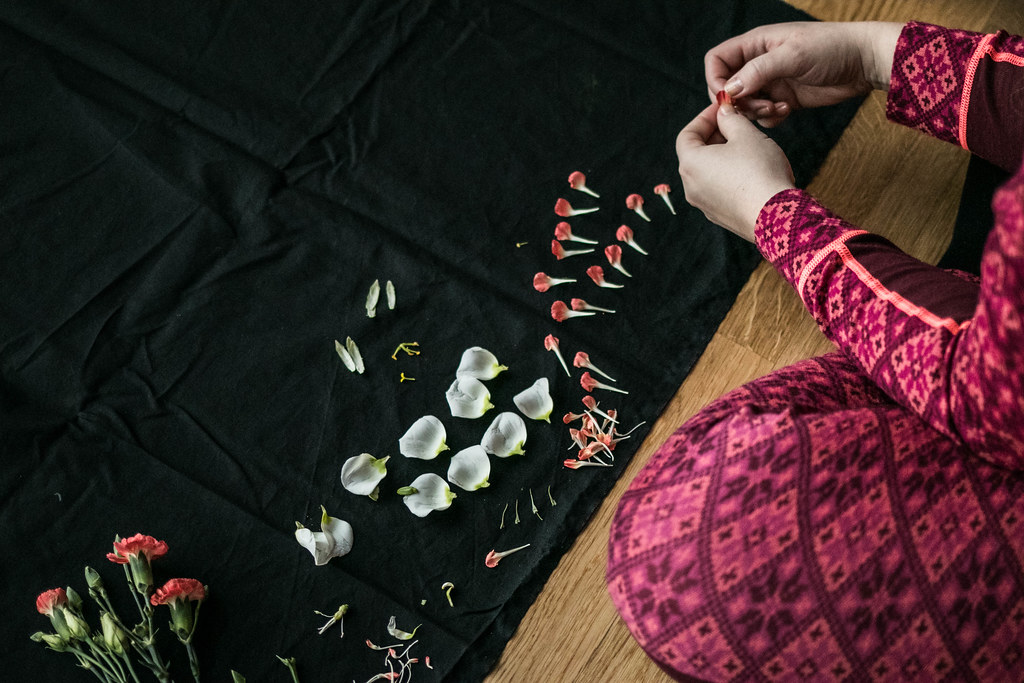 Dag 3 - 180130 - Blomsterpill med Hanna