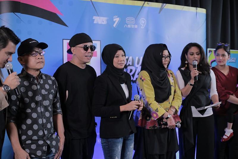 Barisan speakers yang terlibat dalam bengkel DFKL 2018