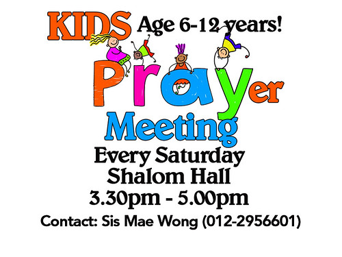kids prayer meeting
