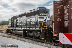 NS 3501 | EMD SD40-2 | NS Memphis District