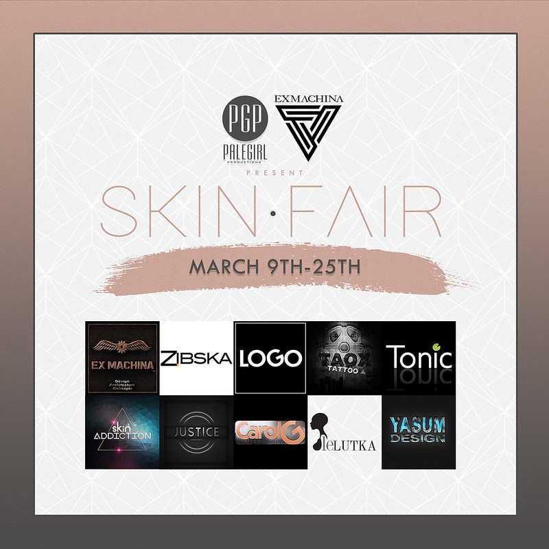 PaleGirlProductions Presents Skin Fair 2018