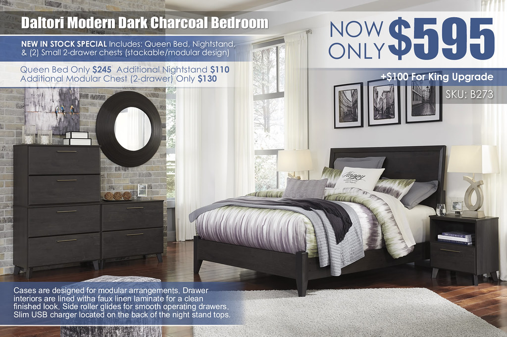 Daltori Dark Charcoal Bedroom_B273-45(3)-57-54-91